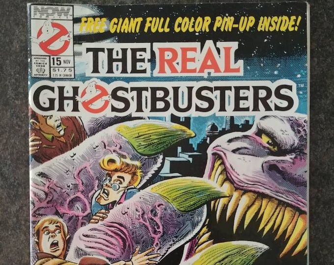 RARE Vintage The Real Ghostbusters Now Comics Comic Book No. 15 November 1989