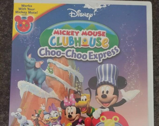 Disney Mickey Mouse Clubhouse Choo-Choo Express DVD Disney Channel DVD cartoon kids show TV series