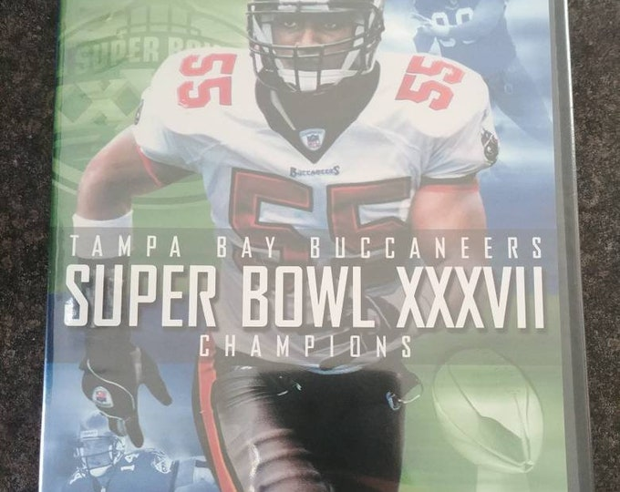 Tampa Bay Buccaneers Super Bowl XXXVII Champions DVD brand new sealed NFL Films football sports champs