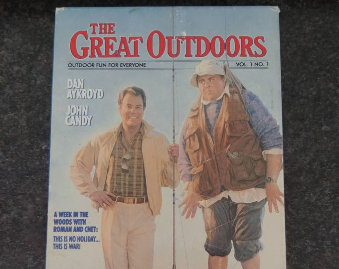The Great Outdoors John Candy Dan Aykroyd comedy movie VHS tape MCA Home Video 1988