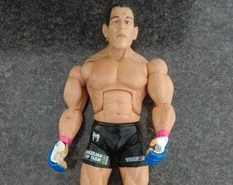 Rare UFC Antonio Nogueira Jakks Pacific figure Total Elimination Pride Fighting Championships Brazilian Top Team