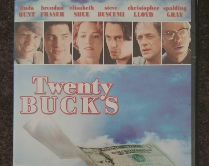 Twenty Bucks DVD 1992 comedy movie Elisabeth Shue Brendan Fraser Steve Buscemi