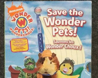 Save the Wonder Pets DVD Nickelodeon 4 episodes on DVD cartoon kids show Wonder Pets DVD sleeve