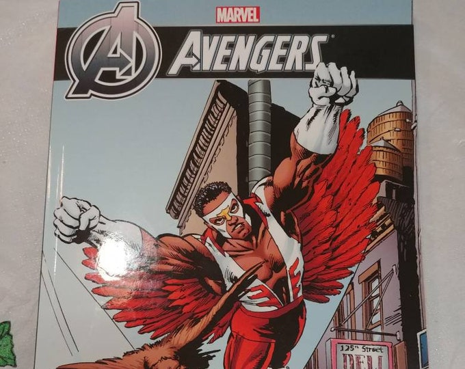 Marvel Avengers: Falcon Graphic Novel comic book Superhero Falcon #1 to #4 collection hard to find book