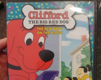 Clifford The Big Red Dog The New Baby On The Block DVD PBS kids TV show Scholastic cartoon animated