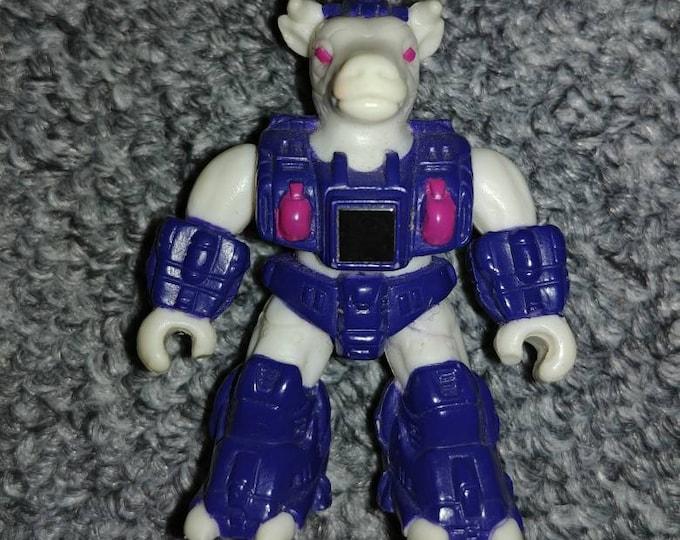 Battle Beasts Bodacious Bovine toy figure 1987 Hasbro Takara #68 Series 3 figure retro vintge toy