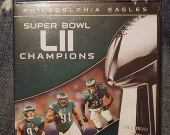 Philadelphia Eagles Super Bowl LII Champions DVD brand new sealed NFL Network Films football sports champs