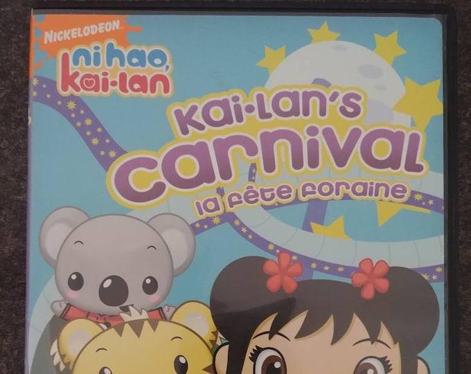Ni Hao, Kai-Lan Kai-Lan's Carnival DVD Nickelodeon 4 episodes on DVD cartoon kids show