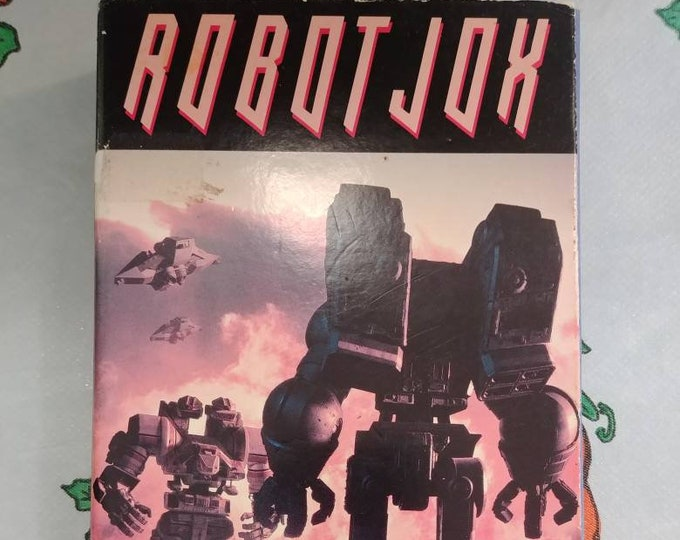 Rare Robot Jox VHS tape 1990 RCA / Columbia Pictures Home Video early release tape