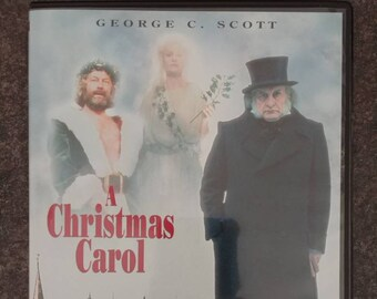 A Christmas Carol slim case DVD version George C. Scott version of the classic film from 1984