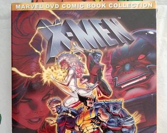 X-Men Volume 3 DVD 2 disc set 1990's cartoon series hard to find set Marvel Comic Book Collection Featuring The Dark Phoenix