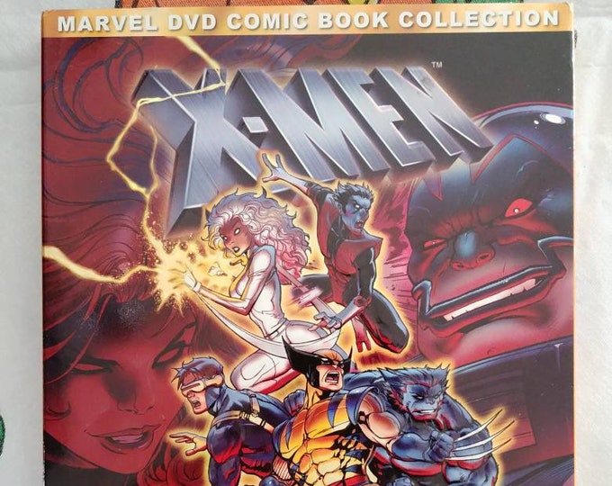 X-Men Volume 3 DVD 2 disc set 1990's cartoon series hard to find set Marvel Comic Book Collection Featuring The Dark Phoenix