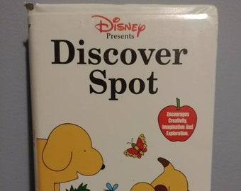 Disney Presents Discover Spot VHS tape kids cartoon dog Spot 1999 Walt Disney Home Video show