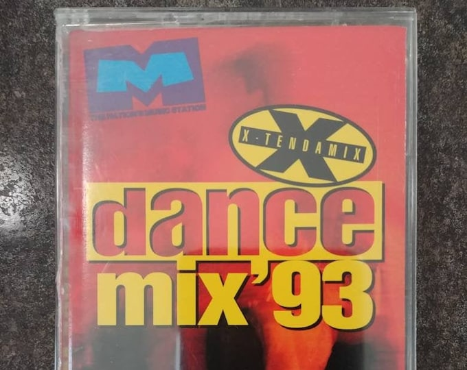 Much Music Dance Mix '93 X-Tendamix cassette tape Quality Special Products 1993 Canadian tape