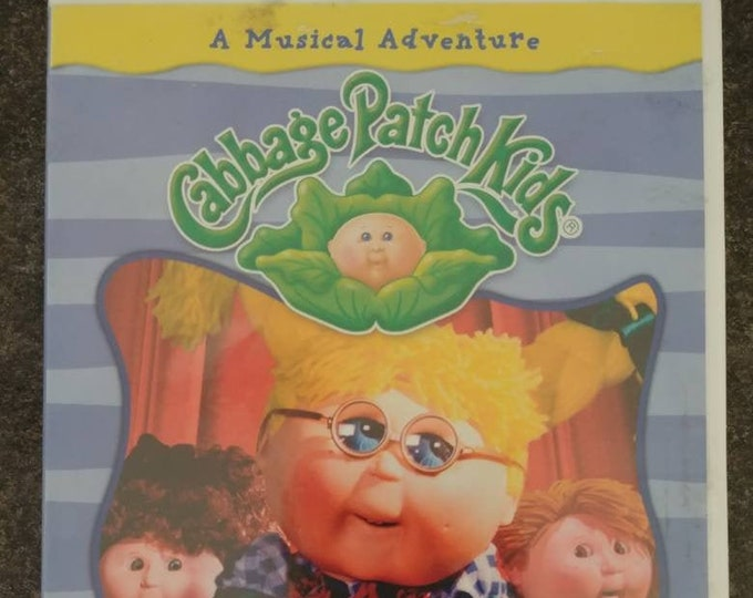 Cabbage Patch Kids The New Kid DVD stop-motion video musical adventure show