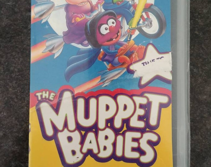 The Muppet Babies Time to Play VHS tape Jim Henson Video TV show cartoon series 2 episodes 1993