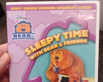 Disney's Bear In The Big Blue House Sleepy Time With Bear and Friends DVD kids TV show Emmy Award Winning kids series