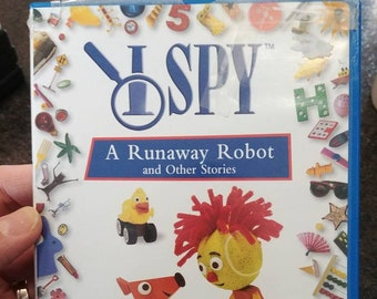 I Spy A Runaway Robot and Other Stories DVD kids TV show Scholastic HBO Family
