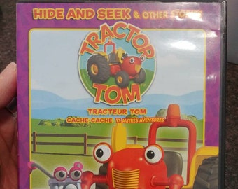 Rare Tractor Tom Hide and Seek and Other Stories DVD kids TV show cartoon animated Canadian CBC show