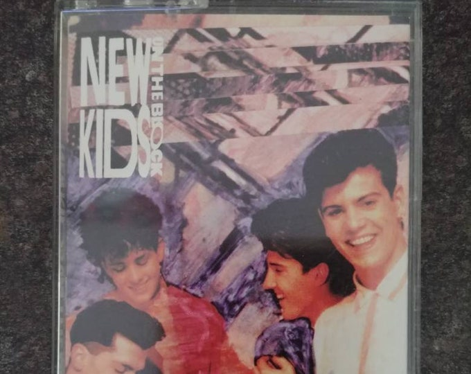 New Kids On The Block Step By Step 1990 cassette tape Columbia Records CBS Canada