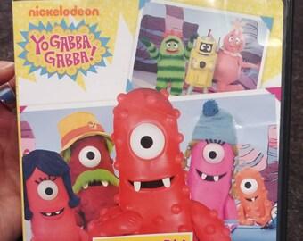 RARE Nickelodeon Yo Gabba Gabba Meet My Family DVD Nick Jr. kids TV show