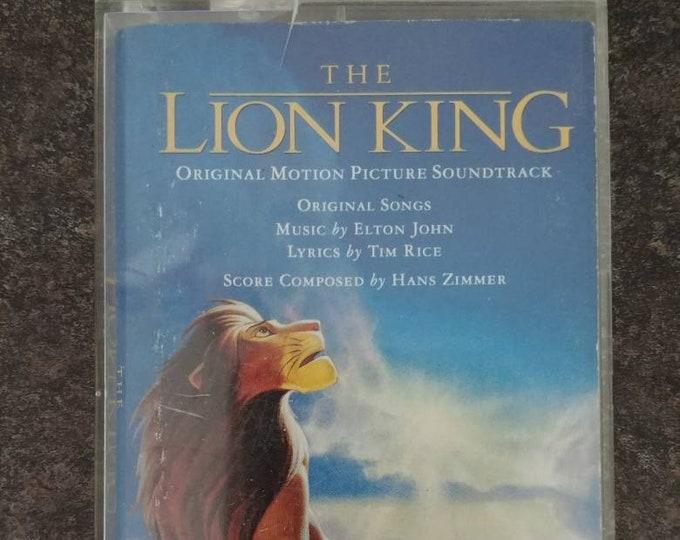 Disney's The Lion King Soundtrack 1994 cassette tape Walt Disney Records