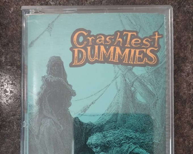 Crash Test Dummies The Ghosts That Haunt Me cassette tape Arista 1991 Canadian tape