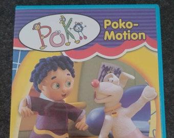 RARE Canadian version Poko: Poko-Motion DVD Alliance Atlantis Canada 1999 CBC kids show