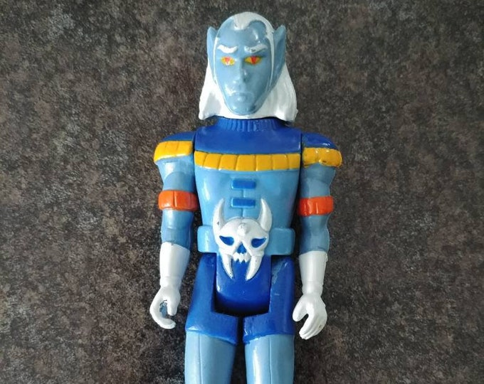 Hard to find Voltron Prince Lotor action figure Panosh Place 1984 TV cartoon show