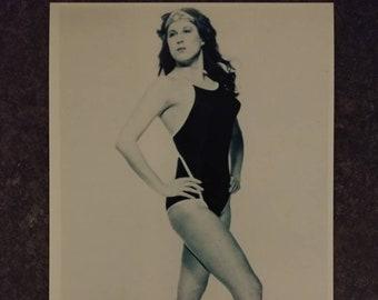 Portland Wrestling PNW Sabrina Wrestling's Wonder Woman woman's wrestling promo style art print 4x6 photo WWE WWF