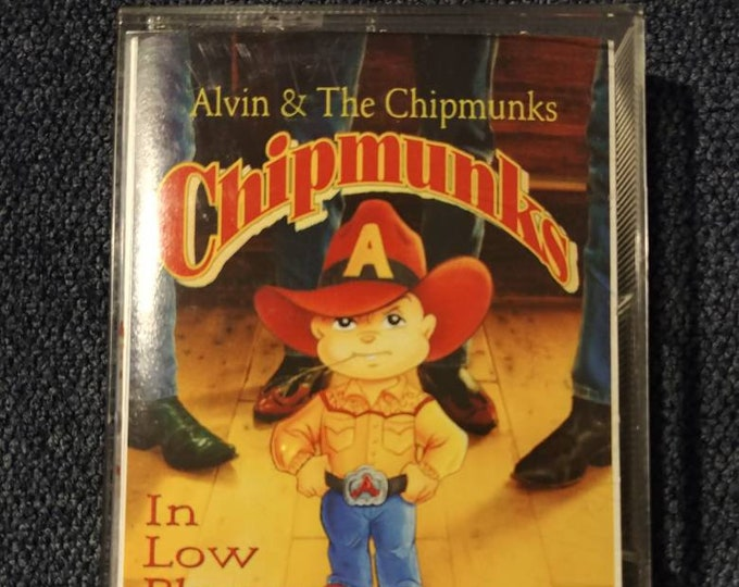 Alvin and the Chipmunks Chipmunks in Low Places 1992 cassette tape Sony Music Canada Canadian version tape Country Compilation