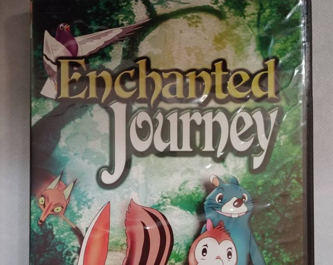 Super RARE Enchanted Journey 1980's Anime DVD Blast Films made in USA Orson Welles Jim Backus voices