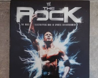 WWE The Rock: The Most Electrifying Man in Sports Entertainment 3 disc DVD set WWE Home Video