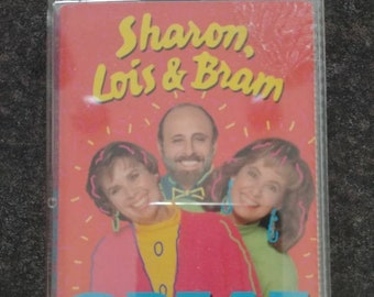 Sharon, Lois and Bram Great Big Hits cassette tape 31 big hit songs 1992 Elephant Records Canada kids songs music
