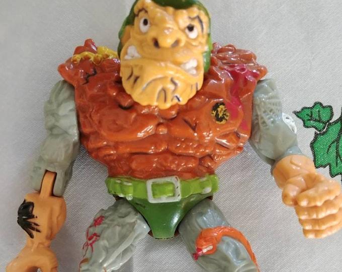 Teenage Mutant Ninja Turtles General Traag 1989 Playmates Toys TMNT vintage action figure toy