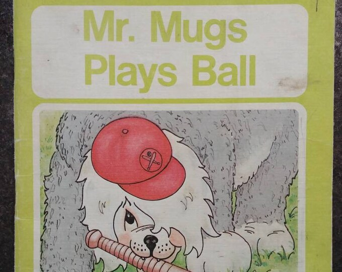 Mr. Mugs Plays Ball vintage Canadian school reader Ginn and Company 1976 kids book