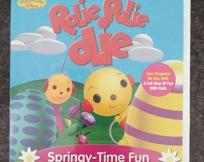 Playhouse Disney USA version Rolie Polie Olie Springy-Time Fun DVD Disney DVD 1999