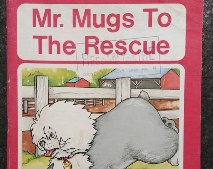 Mr. Mugs To The Rescue vintage Canadian school reader Ginn and Company 1977 kids book