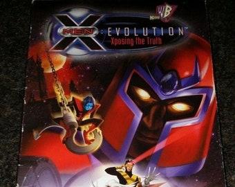 X-Men Evolution Exposing the Truth VHS Kids WB Marvel Video cartoon TV show X-Men