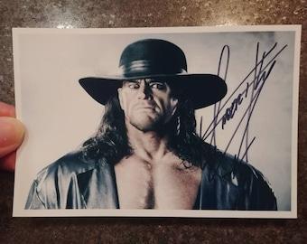 Vintage retro The Undertaker WWF WWE wrestling wrestler 2000's photo picture color 4x6