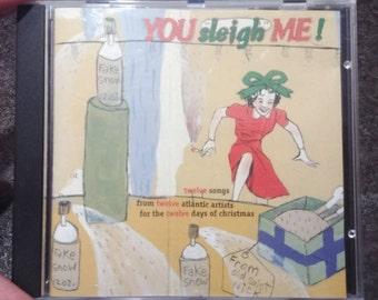 Very RARE You Sleigh Me! Atlantic Records Christmas CD album 1995 Collective Soul Tori Amos Everything But The Girl