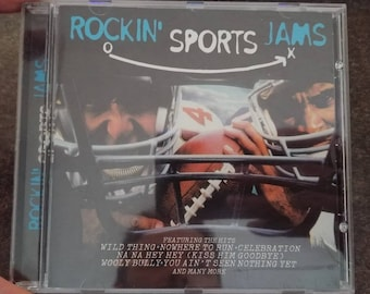 HTF Rockin' Sports Jams Polygram Special Projects CD album 1998 James Brown The Troggs Kurtis Blow The Gap Band