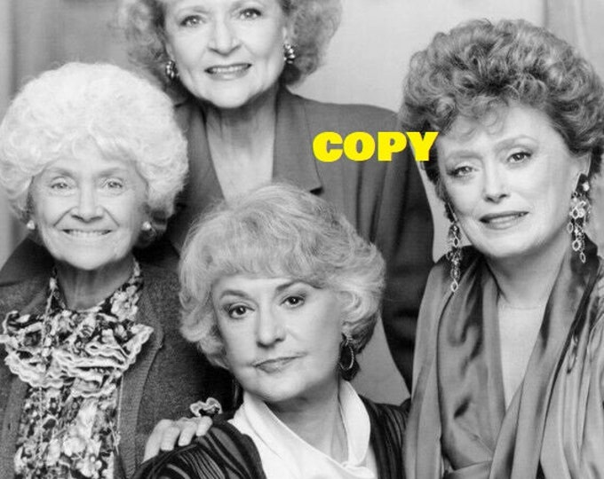 The Golden Girls TV show cast actresses classic Comedy publicity photo shoot RP 4x6 pick your photo