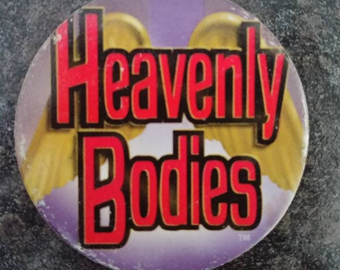 HTF Heavenly Bodies WWF Matcaps Tag Team wrestling Pog Pogs Milk Caps 1995