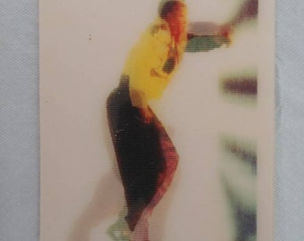 Rare 1990 Canadian Post Cereal MC Hammer cards rapper Lenticular cereal premium toy cereal box giveaway