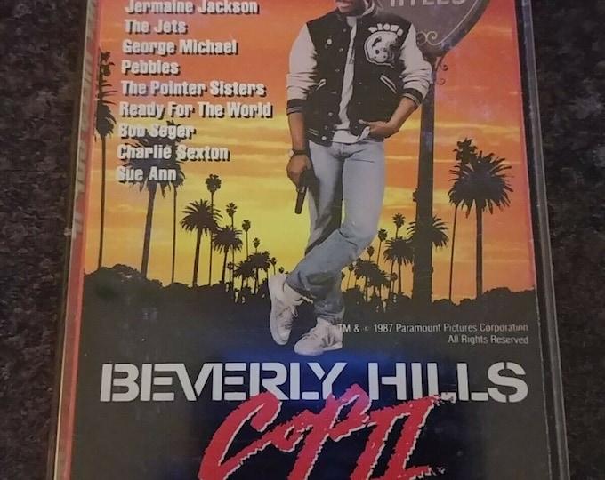 Beverly Hills Cop II 1987 cassette MCA Records Inc. Canada Beverly Hills Cop 2