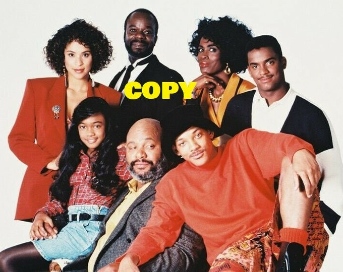 Fresh Prince of Bel-Air original Aunt Vivian Janet Hubert TV show cast picture photo RP 4x6