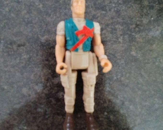 Battletech Adam Steiner action figure mini small 1994 Tyco Toys Dino Riders retro figure rare