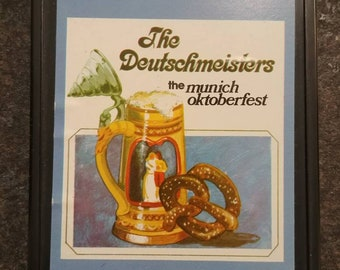 The Deutschmeisters Play Munich Oktoberfest 8 Track tapes cassette 1970's beer fest Cartridge music system retro vintage German