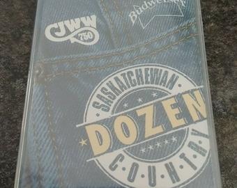BRAND NEW Saskatchewan Country Dozen cassette tape Saskatoon Canada CJWW Radio